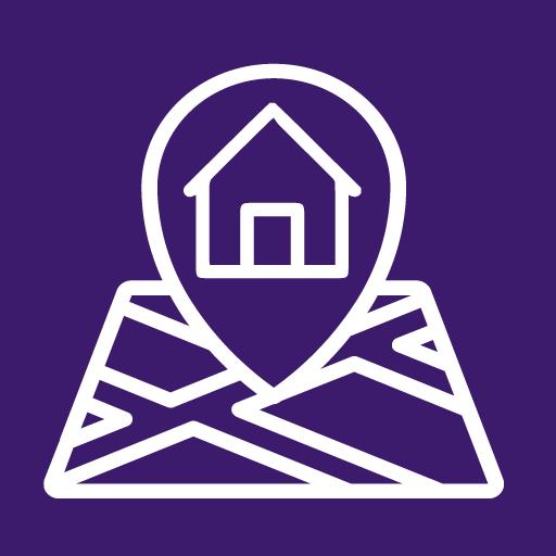 logo app morada